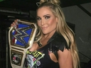 Nattie Neidhart after winning the Smackdown Women's Championship at Summerslam 2017. (Submitted Photo)