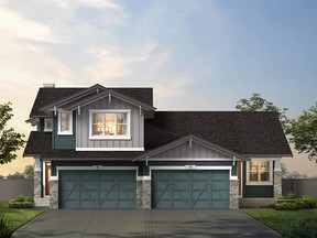 Homes by Avi is introducing the Terraces ó two-storey and bungalow attached homes ó at Crestmont West. Courtesy, Homes by Avi