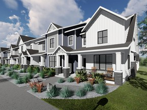 Arrive at D'Arcy Blvd Townhomes by Partners Development Group in Okotoks Courtesy, Partners Development Group