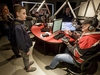 Josh Davies, 12, a Type 1 diabetic whose insulin pump was recently stolen, speaks with CJAY 92 morning show host Gerry Forbes inside the station's studio in Calgary, Alta., on Thursday, March 9, 2017. The Gerry Forbes Secret Wish fund pulled together enough money from listeners to help Davies replace his OmniPod tubeless insulin pump that was recently stolen from a hockey dressing room in Airdrie. Lyle Aspinall/Postmedia Network