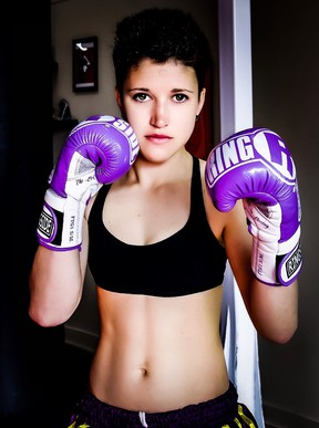 Cassie Warbeck is taking on champion Jenine Pirro for the WKA flyweight title in a Muay Thai bout during the Dekada Contender card on Sept. 28