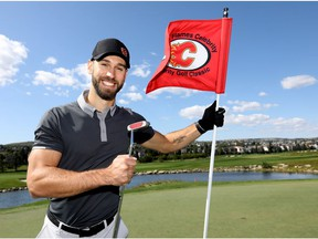 Calgary Flames, Cam Talbot as the Flames hosted the Calgary Flames Celebrity Charity Golf Classic, their annual fundraiser for the Calgary Flames Foundation which took place at two different golf courses: The Country Hills Golf Club and The Links of Glen Eagles in Calgary on Wednesday, September 4, 2019. Darren Makowichuk/Postmedia
