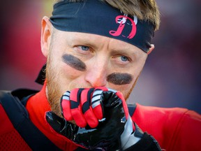 In Sunday's game, Bo Levi Mitchell completed only 12-of-28 passes for 116 yards.
