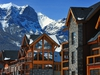 Canmore real estate is leading the return of the recreational property market as Creekstone Mountain Lodge condominiums have southwest exposure and unobstructed views of the Canadian Rockies. Lodge includes a private courtyard with outdoor hot tub and owners' wine lounge. (CNW Group/Spring Creek, Canmore)
