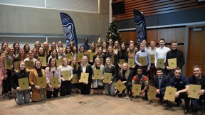 Mount Royal Cougars Athletics and Recreation honoured  student-athletes named Academic All-Canadians