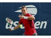 NEW YORK, NEW YORK - AUGUST 27: Vasek Pospisil of Canada returns a shot against Karen Khachanov of Russia during their Men's Singles first round match on day two of the 2019 US Open at the USTA Billie Jean King National Tennis Center on August 27, 2019 in the Flushing neighborhood of the Queens borough of New York City. (Photo by Mike Stobe/Getty Images)