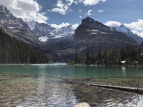 Picture of Lake O'Hara from July 9, 2019.