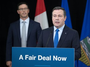 Premier Jason Kenney announced the Fair Deal Panel report on June 17, 2020.