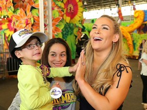 Make A Wish it's just one of many charities that WWE works with. Through social media we are able to help even more kids get their wishes granted!