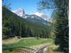 The 14th hole at Stewart Creek in Canmore offers an eagle opportunity, especially since the ball travels a little further in the thin mountain air. Courtesy of Stewart Creek