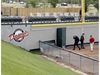 The new Core 4 Corner seating area is seen in the outfield at Seaman Stadium as The Okotoks Dawgs announce exciting developments for the upcoming 2021 WCBL season. Highlights include the Dawgs hosting the 2021 WCBL All-Star Game. Wednesday, September 2, 2020. Brendan Miller/Postmedia