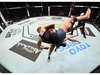 ABU DHABI, UNITED ARAB EMIRATES - OCTOBER 18: In this handout image provided by UFC, :  (R-L) Jessica Andrade of Brazil takes down Katlyn Chookagian in their women's flyweight bout during the UFC Fight Night event inside Flash Forum on UFC Fight Island on October 18, 2020 in Abu Dhabi, United Arab Emirates. (Photo by Josh Hedges/Zuffa LLC via Getty Images)