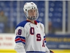 Montana-born Jake Sanderson, who spent several years in the Calgary minor-hockey system, skated for the past two seasons with USA Hockey's National Team Development Program. The 18-year-old defenceman is projected to be an early pick in the 2020 NHL Draft. (Rena Laverty/USA Hockey)