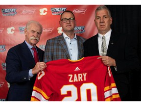 The Calgary Flames selected Connor Zary at No. 24 from the Western Hockey League's Kamloops Blazers  during the 2020 NHL Draft. Photo courtesy of the Calgary Flames.