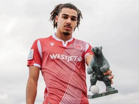 Cavalry FC's Mohamed Farsi won the Canadian Premier League's best Canadian under-21 player-of-the-year award for the 2020 season.
