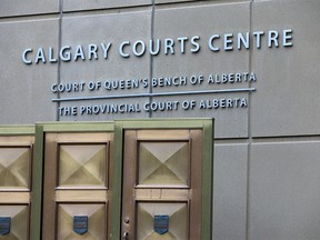 The Calgary Courts Centre was photographed on Tuesday, Jan. 19, 2021.