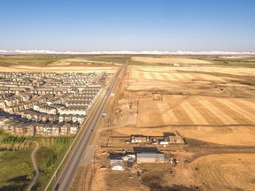Anthem United and Ronmor Group started breaking ground on Glacier Ridge, a new community in northwest Calgary.