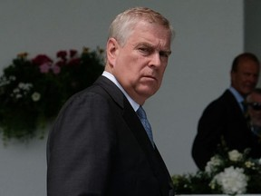 Prince Andrew, Duke of York visits the Great Yorkshire Show on July 11, 2019 in Harrogate, England.