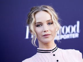 Actress Jennifer Lawrence attends The Hollywood Reporter 2017 Women In Entertainment Breakfast, on December 6, 2017, in Hollywood, California.