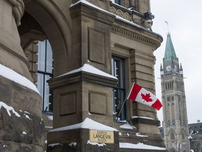The Parliament Hill building housing the Prime Minister's Office is seen on Thursday, Feb. 16, 2017 in Ottawa.