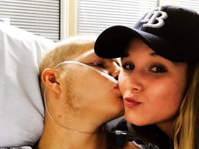This Facebook photo shows Dustin Snyder and Sierra Siverio.