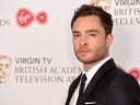 Ed Westwick poses in the Winner's room at the Virgin TV BAFTA Television Awards at The Royal Festival Hall on May 14, 2017 in London, England. (Jeff Spicer/Getty Images)