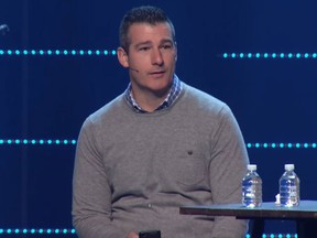 Andy Savage, a pastor at Highpoint Church in Memphis, received a standing ovation after confessing to a sexual incident with a teenager more than 20 years ago. (Highpoint Church/YouTube)