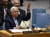 "Palestinian leader Mahmud Abbas speaks at the United Nations Security Council on February 20, 2018 in New York. Palestinian leader Mahmud Abbas on Tuesday called for the convening of an international conference by mid-2018 to pave the way for recognition of Palestinian statehood as part of a wider Middle East peace process. ""To solve the Palestine question, it is essential to establish a multilateral international mechanism emanating from an international conference,"" Abbas told the UN Security Council.    / AFP PHOTO / TIMOTHY A. CLARYTIMOTHY A. CLARY/AFP/Getty Images"