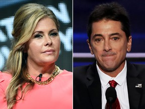 Nicole Eggert and Scott Baio.