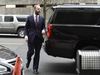 Rick Gates arrives at federal court in Washington, Friday, Feb. 23, 2018. Gates, a former top adviser to President Donald Trump's campaign is scheduled to plead guilty in the special counsel's Russia investigation to federal conspiracy and false statements charges. (AP Photo/Susan Walsh) ORG XMIT: DCSW103