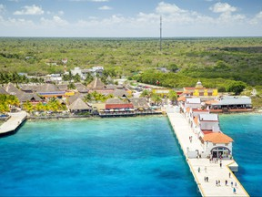 The port of Puerta Maya in Cozumel, Mexico is pictured in this undated file photo. (mikolajn/Getty Images)