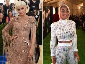 Kylie Jenner (left) and Blac Chyna. (ANGELA WEISS/AFP/Getty Images/Paras Griffin/Getty Images for BET)