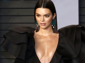 2018 Vanity Fair Oscar Party hosted by Radhika Jones at Wallis Annenberg Center for the Performing Arts in Beverly Hills, California.  Featuring: Kendall Jenner Where: Beverly Hills, California, United States When: 04 Mar 2018 Credit: Regina Wagner/Future Image/WENN.com