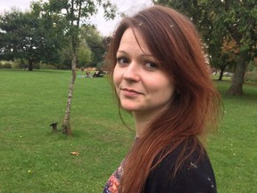This is a file image of the daughter of former Russian spy Sergei Skripal, Yulia Skripal taken from Yulia Skipal's Facebook account on Tuesday March 6, 2018.  (Yulia Skripal/Facebook via AP, File)