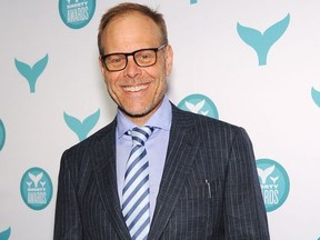 Alton Brown attends The 7th Annual Shorty Awards on April 20, 2015 in New York City.