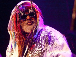 Funk legend George Clinton announced he will retire from touring next year. (Mark O'Neill/Postmedia Network/Files)