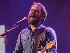 FILE - In this file photo dated Sept. 22, 2012, showing Scott Hutchison, frontman singer of Scottish rock band Frightened Rabbit.  Hutchison went missing Wednesday, and police say Friday May 11, 2018, they have found a body, with formal identification expected soon.