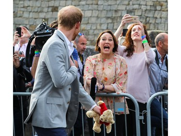 The wedding of Prince Harry and Meghan Markle at Windsor Castle  Featuring: Prince Harry Where: Windsor, United Kingdom When: 18 May 2018 Credit: John Rainford/WENN ORG XMIT: wenn34270698