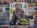 May Vogue Italia cover hits a newsstand in Milan, Italy, Friday, May 4, 2018. Gigi Hadid and Vogue Italia have separately apologized for the May Vogue Italia cover showing the top model with a darker skin tone and hair color that set off a social media backlash and underlined the lack of diversity in the fashion industry. The cover shot by Steven Klein shows the normally blonde Hadid with dark hair and heavily bronzed skin, wearing matching a Dolce & Gabbana sequined legging ensemble with matching tiara. Inside, Hadid poses in beachwear in the spread titled ''High Voltage.''
