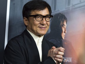 Actor Jackie Chan attends The Los Angeles Premiere of The Foreigner, on October 5, 2017, in Hollywood, California.