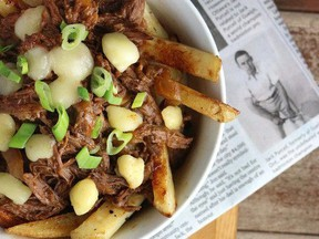 Slow-Cooker Beef Poutine - courtesy Canada Beef