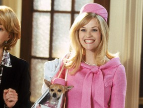 Reese Witherspoon in Legally Blonde 2.