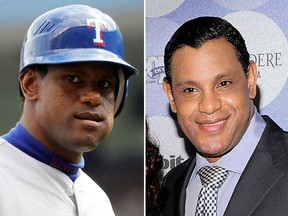 In an interview with Sports Illustrated, former slugger Sammy Sosa admits to whitening his skin and doesn't care what people think of it. (Getty Images)