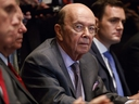 U.S. Secretary of Commerce Wilbur Ross listens during a meeting between President Donald Trump and Republican members of Congress on immigration in the Cabinet Room of the White House, Wednesday, June 20, 2018, in Washington.
