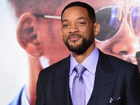 "Actor Will Smith attends the Warner Bros. Pictures' ""Focus"" premiere at TCL Chinese Theatre on February 24, 2015 in Hollywood, California.  (Jason Merritt/Getty Images)"