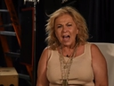 Roseanne Barr is seen in a new video uploaded onto YouTube. (YouTube screengrab)