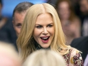Nicole Kidman arrives on the red carpet for the premiere of the film