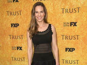 Actress Hilary Swank recently exchanged vows with social entrepreneur Philip Schneider at the Santa Lucia Preserve in Carmel, Calif.