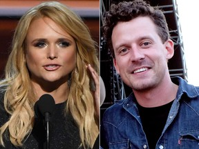 Miranda Lambert and Evan Felker (Ethan Miller/Getty Images and Frazer Harrison/Getty Images for Stagecoach photos)