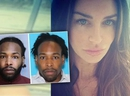 Jonathan Wesley Harris, inset, was arrested Wednesday, Aug. 29, 2018, in the strangulation slaying of model Christina Carlin-Kraft in one of Philadelphia's affluent Main Line suburbs. (Montgomery County District Attorney's Office and Instagram photos)